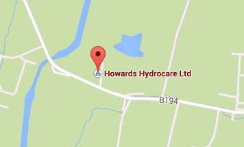 Map to Howards Hydrocare